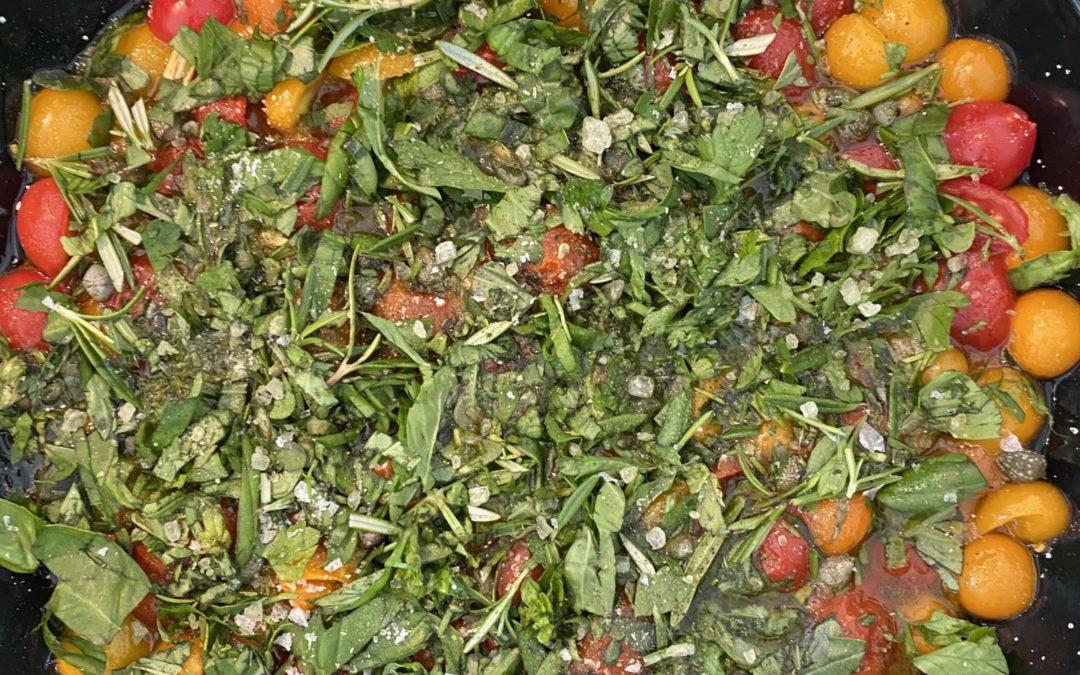 Tranquilo + Tarte tatin av tomater=sant