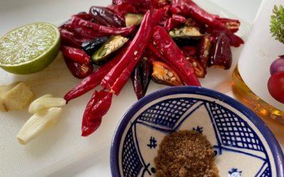 Hjemmelaget chilipasta – Sambal oelek